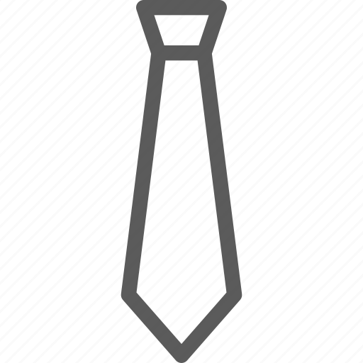 apparel, clothes, dress, gear, outfit, tie icon