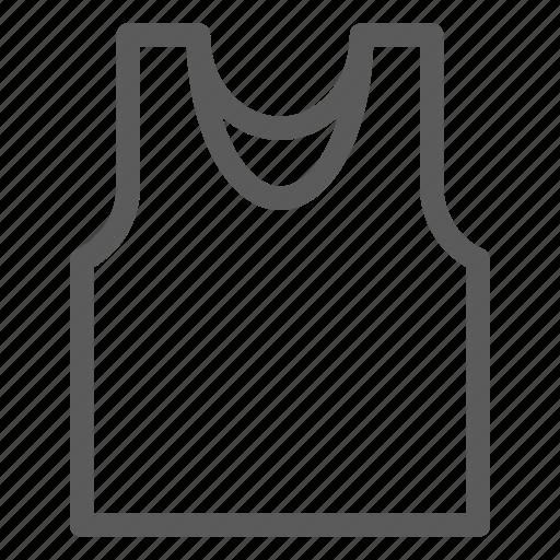apparel, clothes, dress, gear, outfit, vest icon