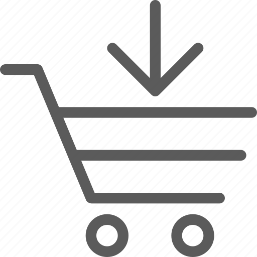 add, business, cart, ecommerce, retail, trade icon