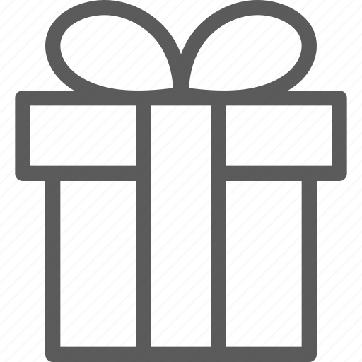 business, ecommerce, present, retail, trade icon