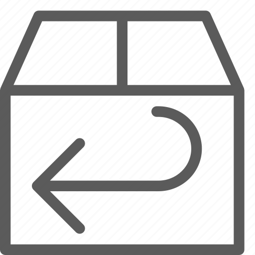 business, ecommerce, retail, returns, trade icon