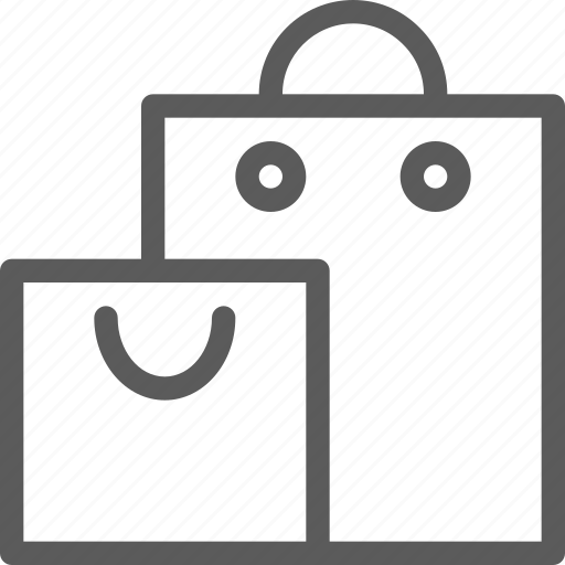 bags, business, ecommerce, retail, shopping, trade icon