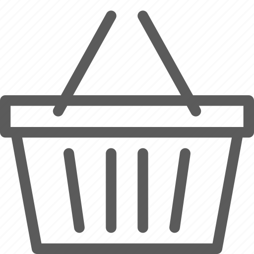 basket, business, ecommerce, retail, shopping, trade icon