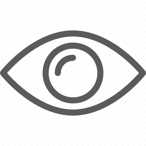 business, ecommerce, eye, retail, trade, watchlist icon