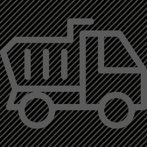 build, construction, development, structure, truck icon