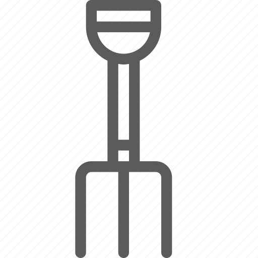 build, construction, development, fork, garden, structure icon