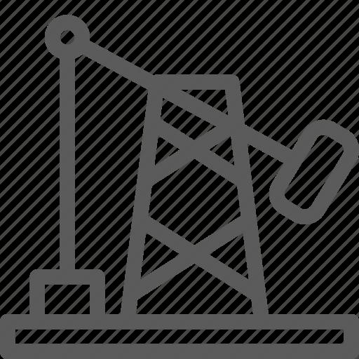 build, construction, development, drilling, oil, structure icon