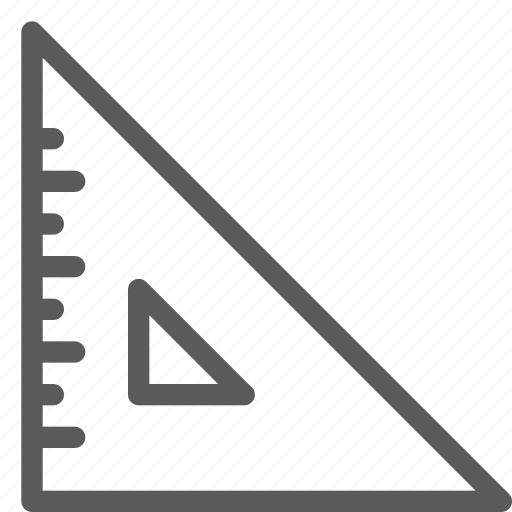 build, construction, development, ruler, structure icon