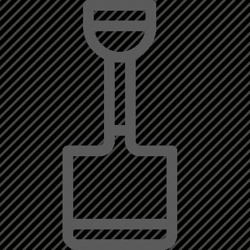 build, construction, development, shovel, structure icon