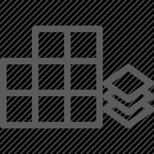 build, building, construction, development, structure, tile icon