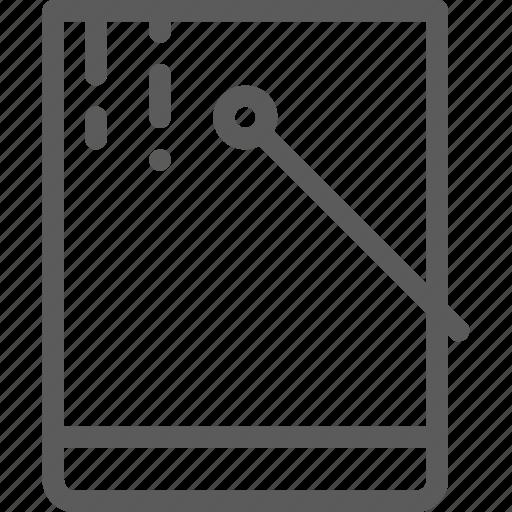 bucket, color, design, draw, graphic, illustration, web icon