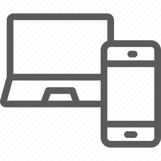computers, devices, gadget, hardware, technology icon