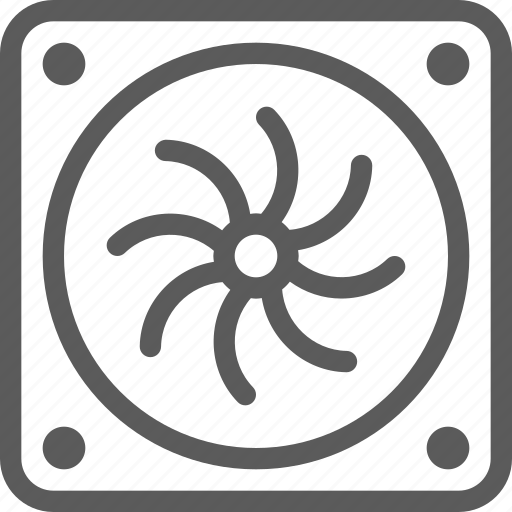 computer, computers, devices, fan, gadget, hardware, technology icon