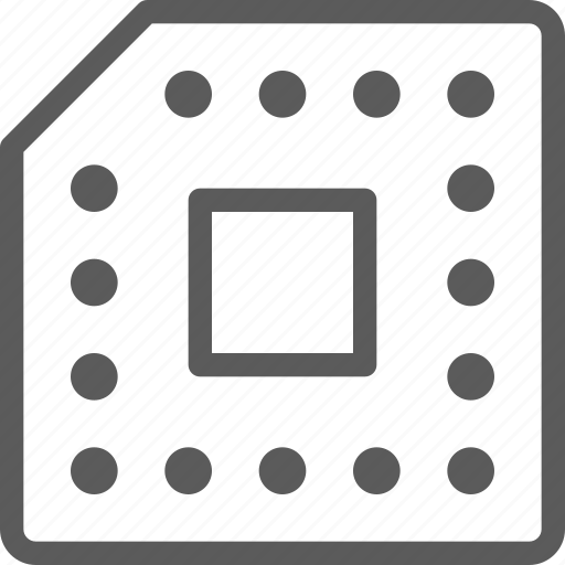 computer, computers, devices, gadget, hardware, processor, technology icon