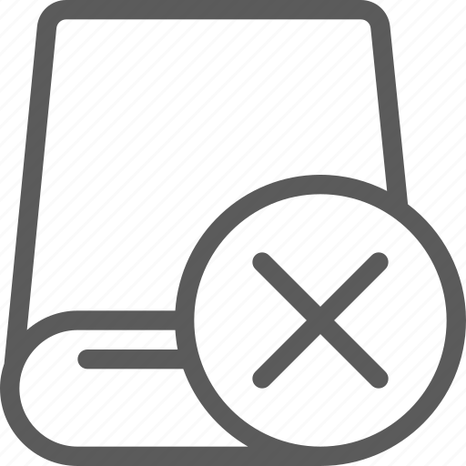 computers, devices, drive, gadget, hardware, removed, technology icon