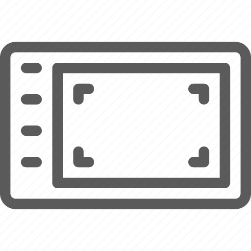 computers, devices, gadget, graphic, hardware, tablet, technology icon