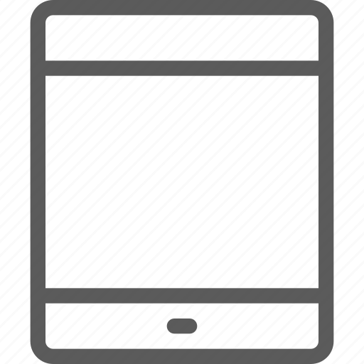 computers, devices, gadget, hardware, ipad, technology icon