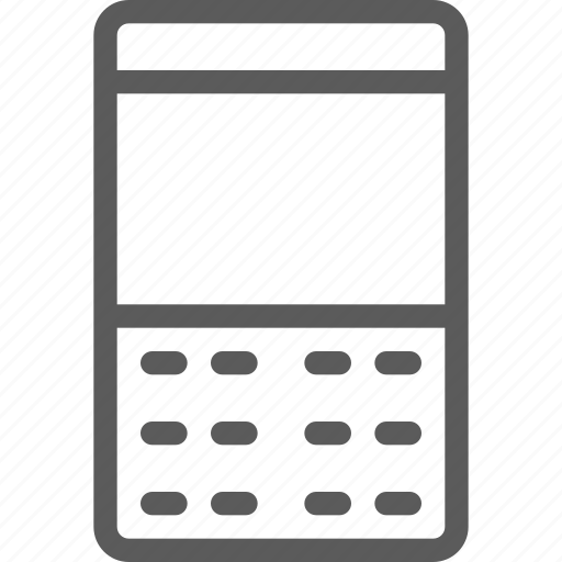 buttons, computers, devices, gadget, hardware, phone, technology icon