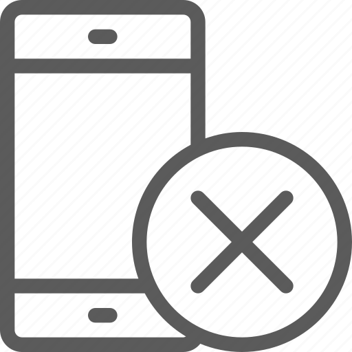 computers, devices, gadget, hardware, phone, removed, technology icon