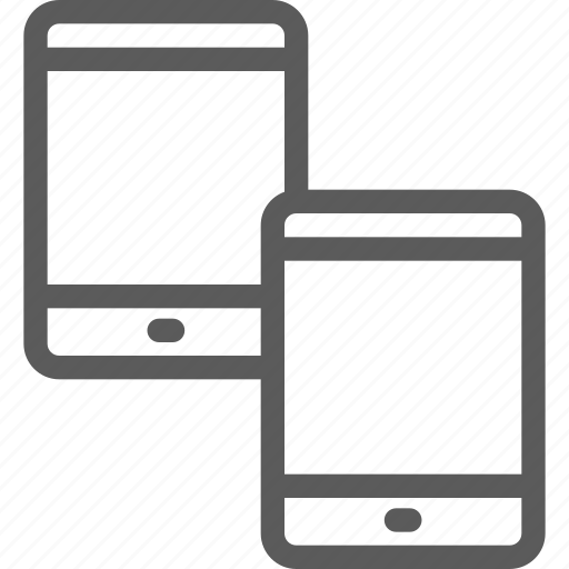 computers, connection, devices, gadget, hardware, tablet, technology icon