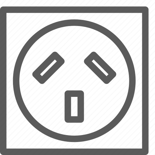 appliances, australia, components, computers, electronics, socket, technology icon