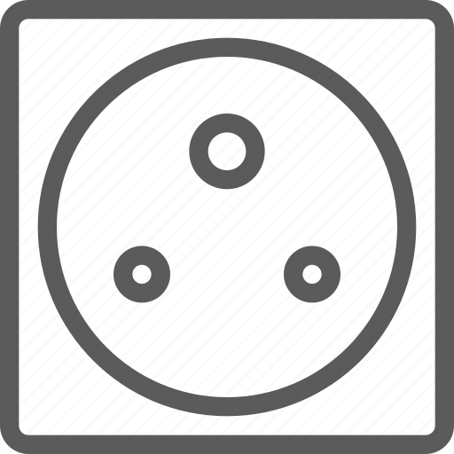 africa, appliances, computers, electronics, india, socket, technology icon