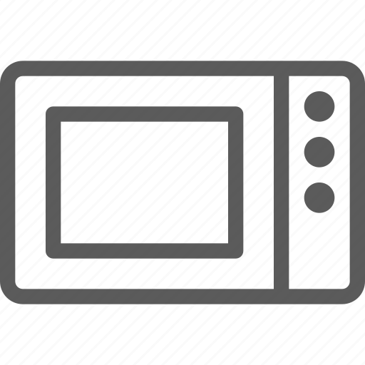 appliances, components, computers, electronics, microwave, technology icon