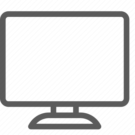 appliances, components, computers, electronics, monitor, technology icon