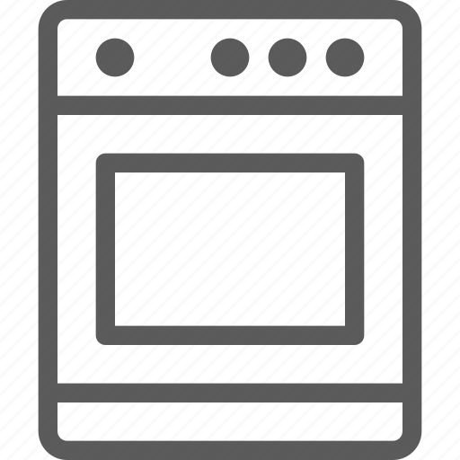 appliances, components, computers, electronics, oven, technology icon