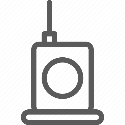 appliances, components, computers, electronics, talkie, technology, walkie icon