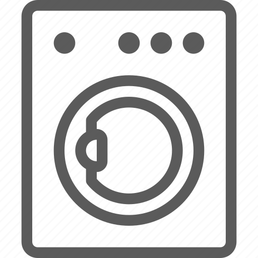 appliances, components, computers, electronics, machine, technology, washing icon