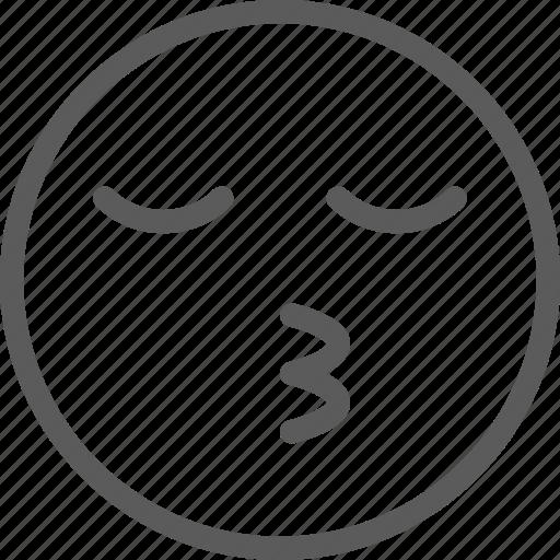 chat, communication, cuttie, emoji, emoticons, face icon