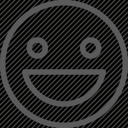 chat, emoji, emoticons, face, happy icon