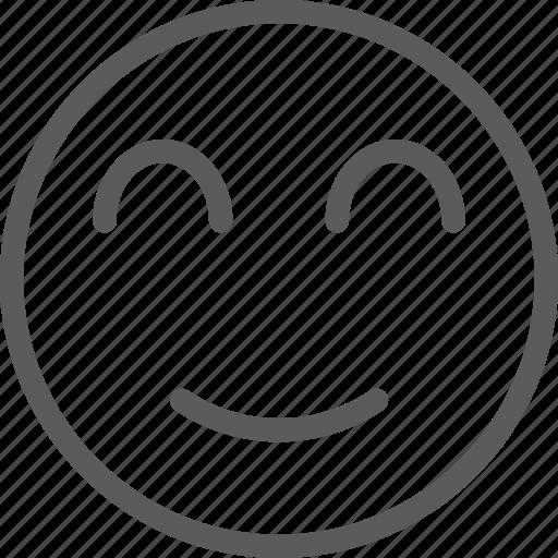 chat, communication, emoji, emoticons, face, smile icon