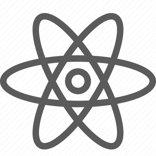 atom, ecology, efficiency, energy, power icon