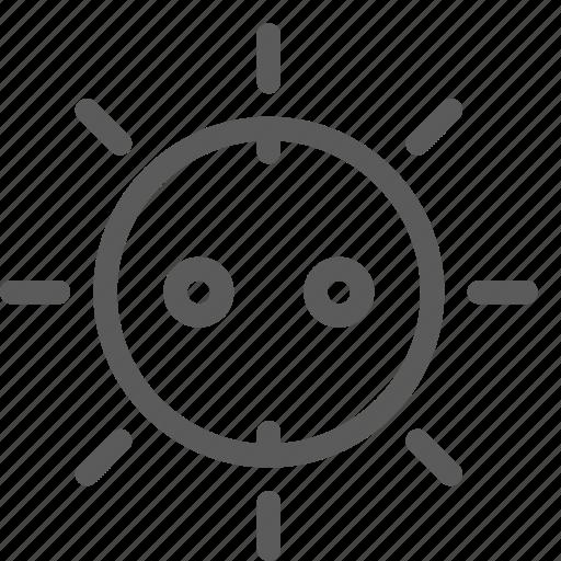 ecology, efficiency, energy, power, sun icon