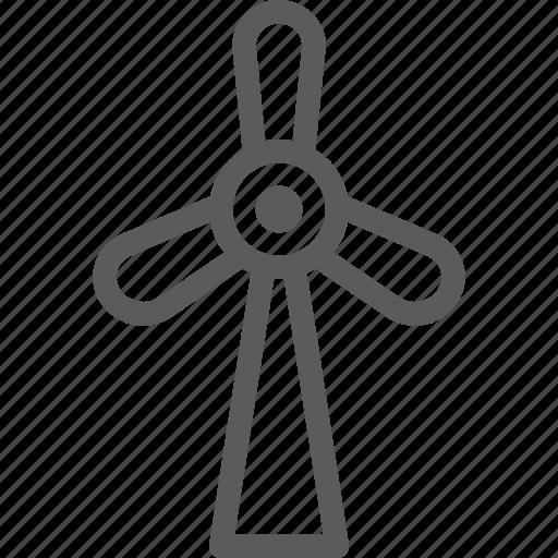 ecology, efficiency, energy, power, turbine, wind icon