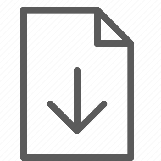 archive, digital, document, download, files, note icon