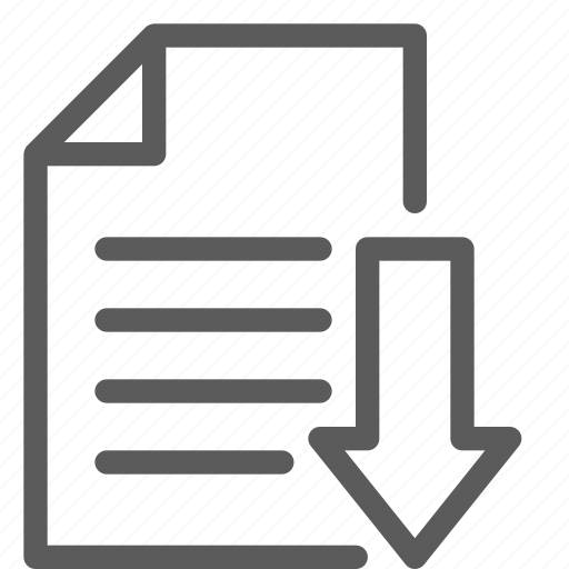 archive, digital, download, files, fill, note icon