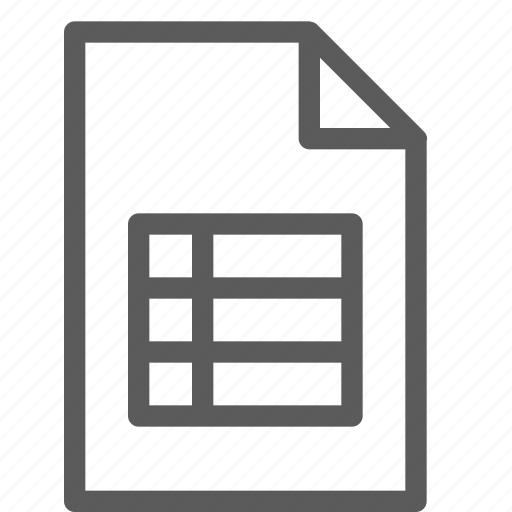 archive, digital, document, excel, file, files, note icon