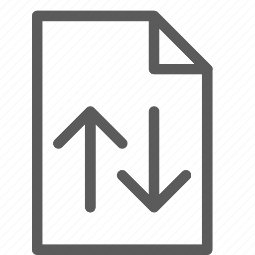 archive, digital, document, exchange, files, note icon