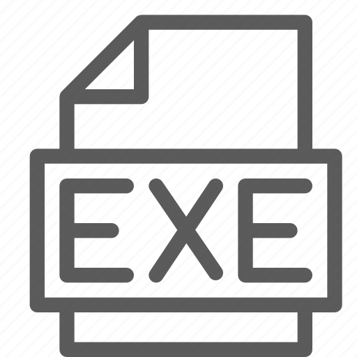 archive, digital, document, exe, file, files, note icon