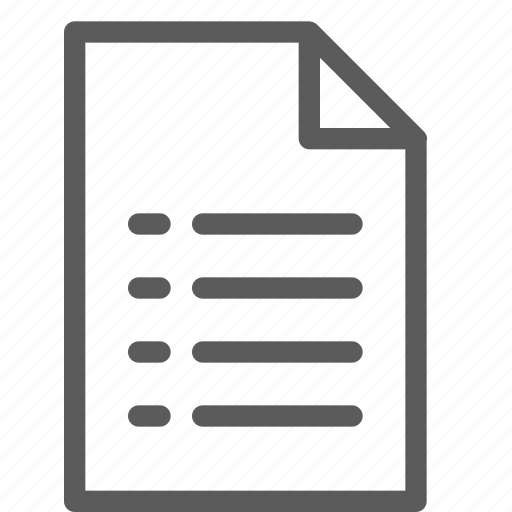 archive, digital, document, file, files, list, note icon
