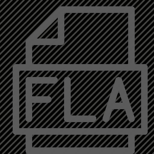 archive, digital, document, file, files, fla, note icon