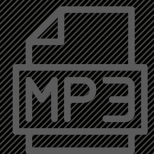 archive, digital, document, file, files, mp3, note icon