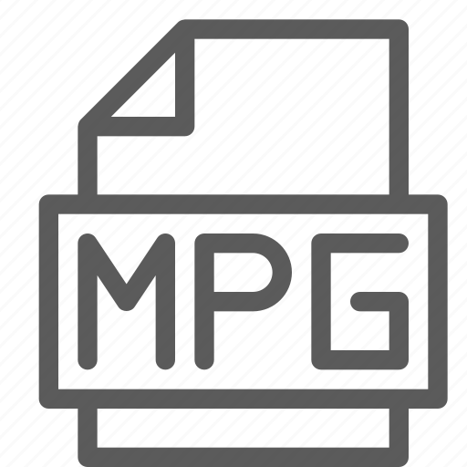 archive, digital, document, file, files, mpg, note icon