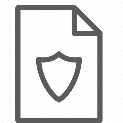 archive, digital, document, files, note, secure icon