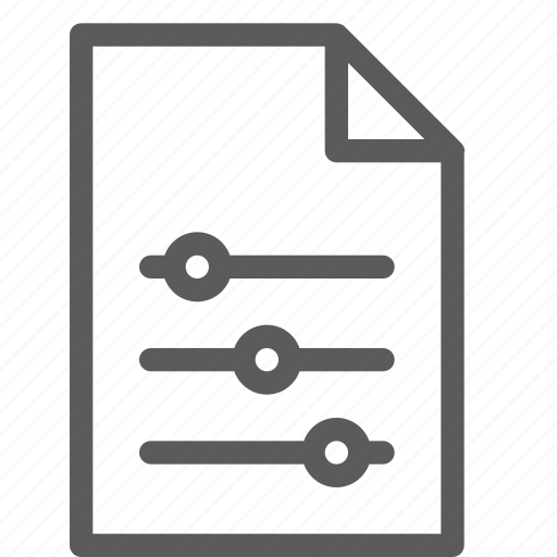 archive, digital, document, file, files, note, settings icon