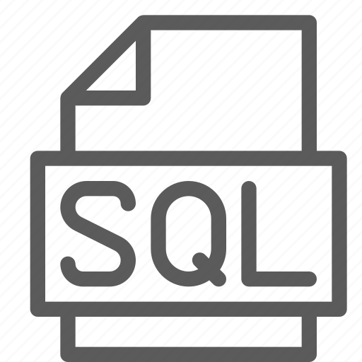 archive, digital, document, file, files, note, sql icon