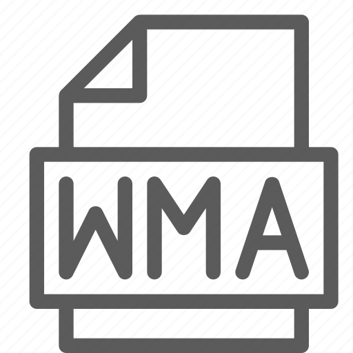 archive, digital, document, file, files, note, wma icon